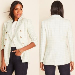 NWT Ann Taylor tweed blazer jacket
